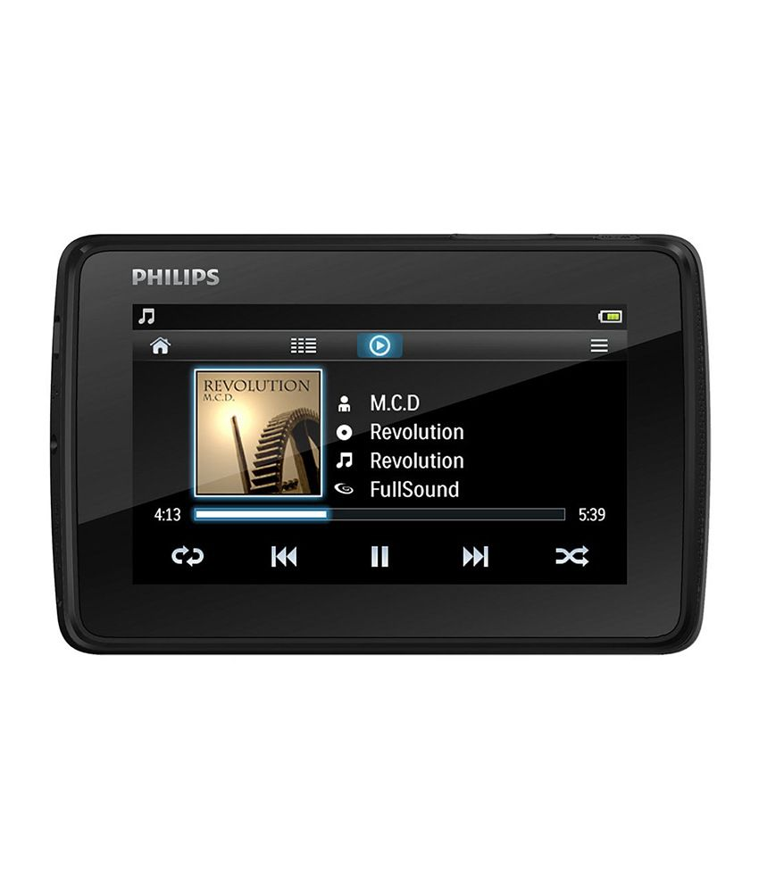 buy philips tap 4 3 inch 8 gb mp4 player online at best. Black Bedroom Furniture Sets. Home Design Ideas