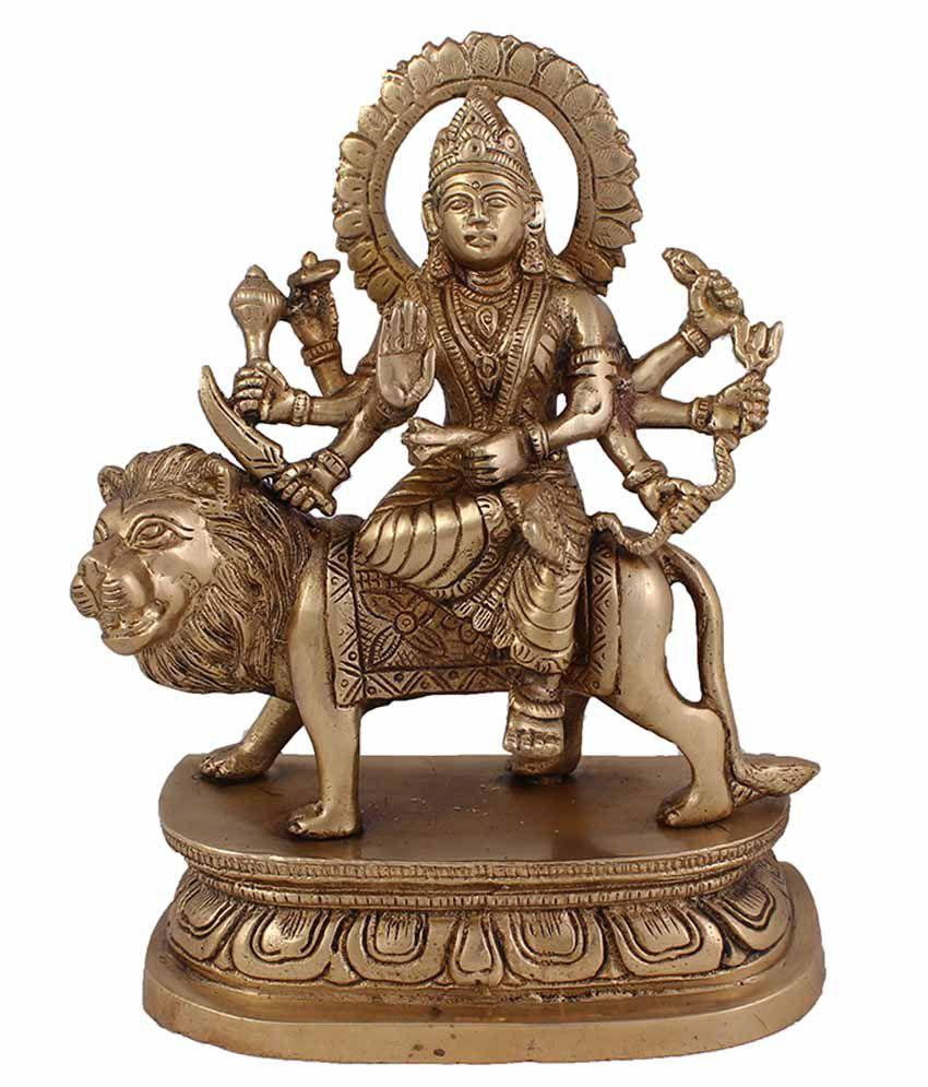 Arihant Craft Durga Brass Idol