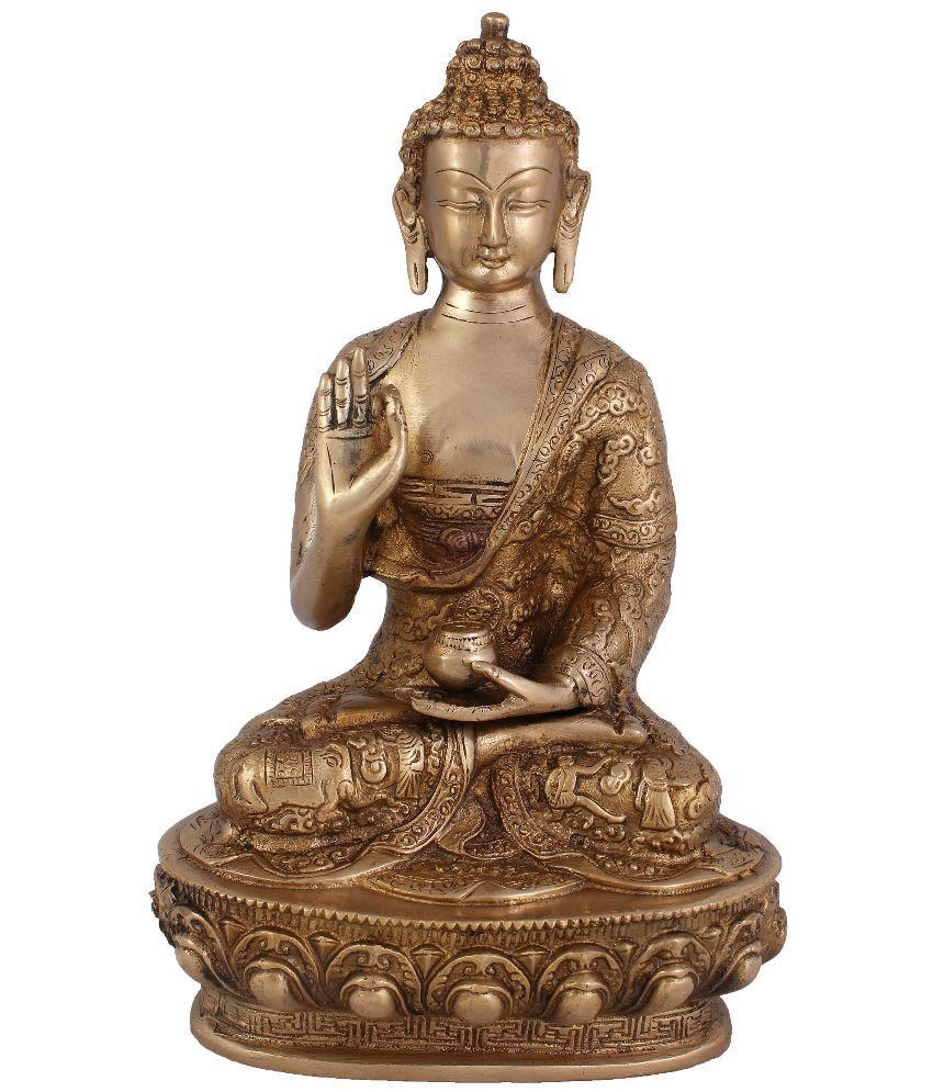Arihant Craft Buddha Brass Idol