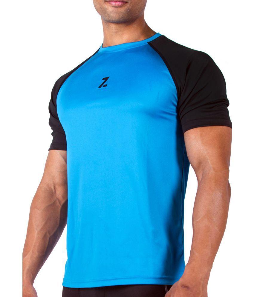 Azani Men's Sub-Zero Tech Short Sleeve T-Shirt Squadron Blue/Black