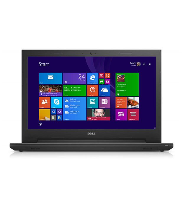 Dell Inspiron 3542 Notebook (X560175IN9) (Intel Celeron- 4GB RAM- 500GB HDD- 39.62 cm(15.6)- Windows 8.1) (Black)