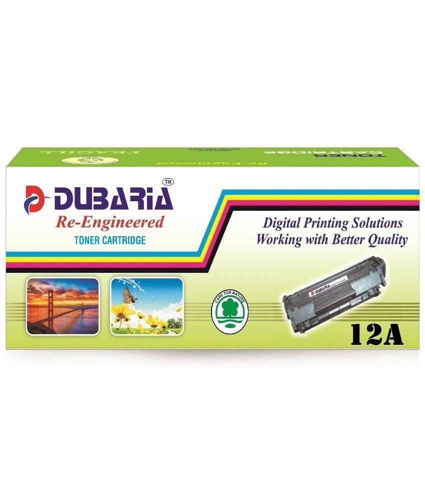 Dubaria 12a Q2612a Compatible For Hp Toner Cartridge 1020 1012 Laserjet 1010