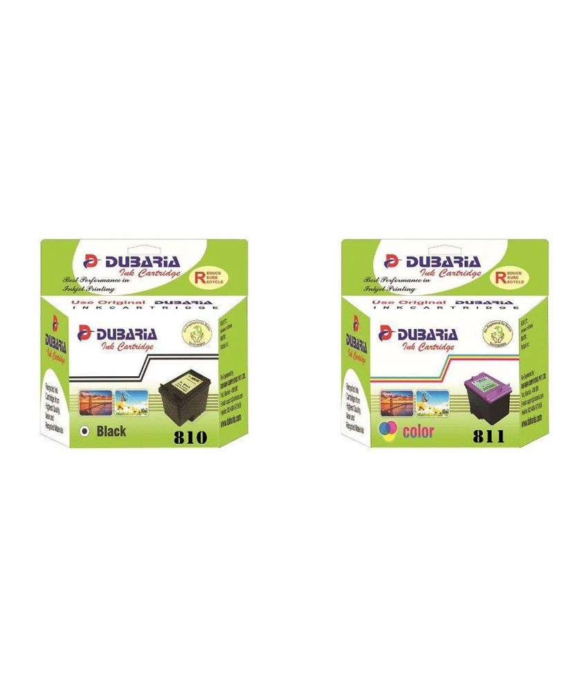 Dubaria 810 811 For Canon And Ink Cartridge Price In Black Original