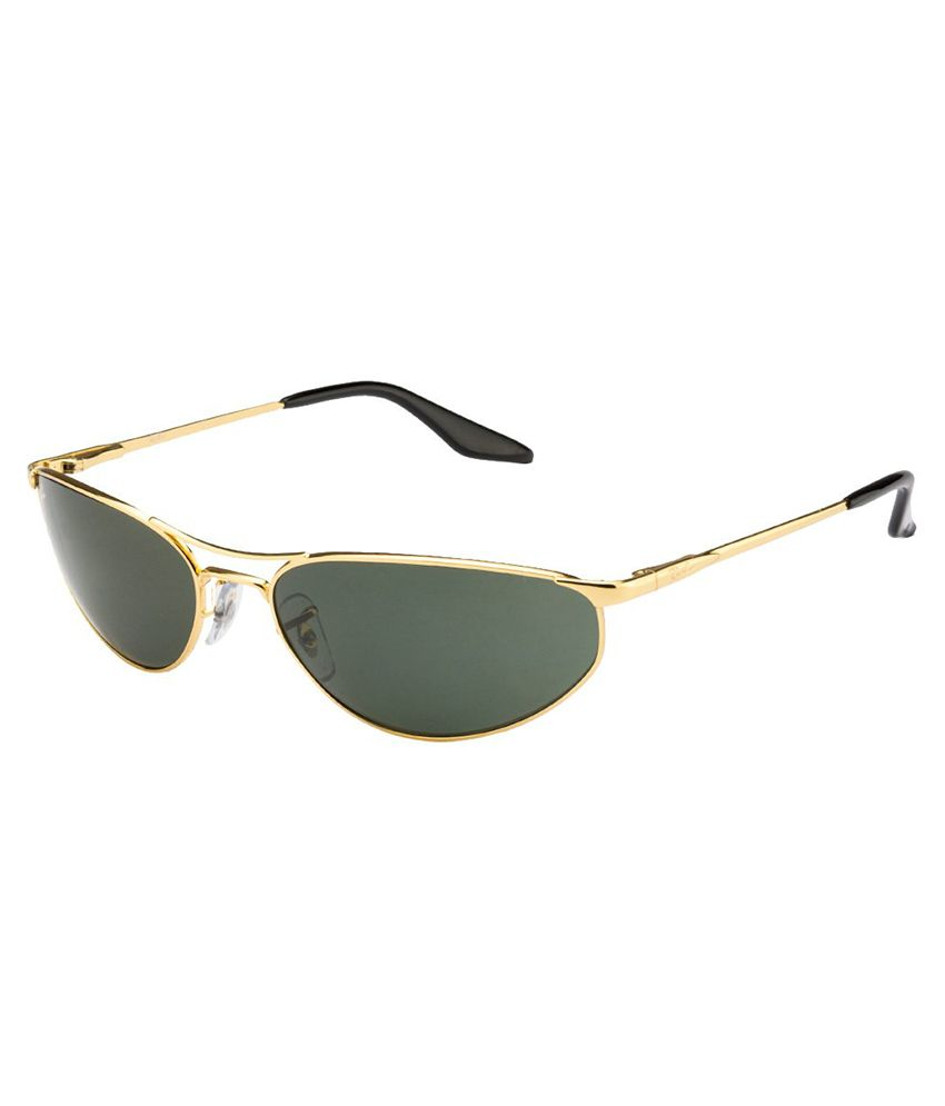 online shopping ray ban  Ray-Ban Green Oval Sunglasses RB-3131-1-59 - Buy Ray-Ban Green ...