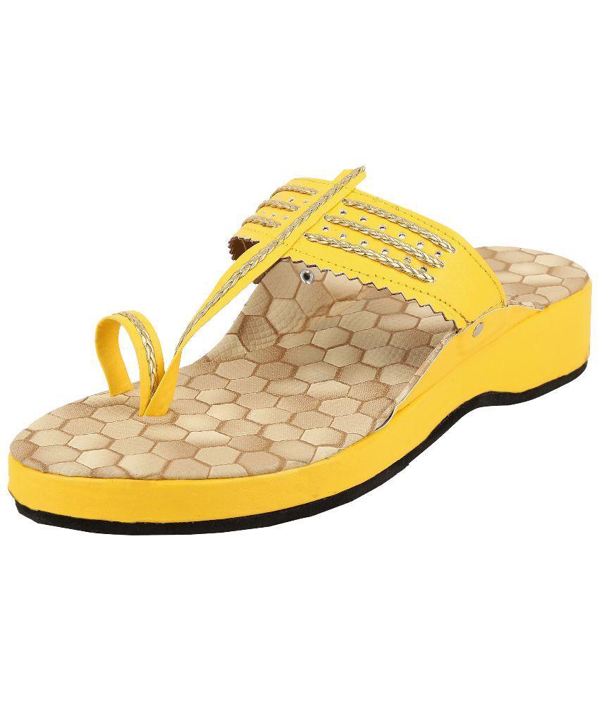 Ridhi Sidhi Beige Ethnic Footwear