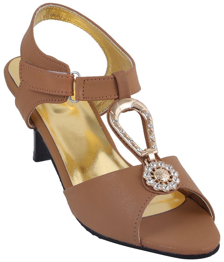 Style Buy Style Tan Heels