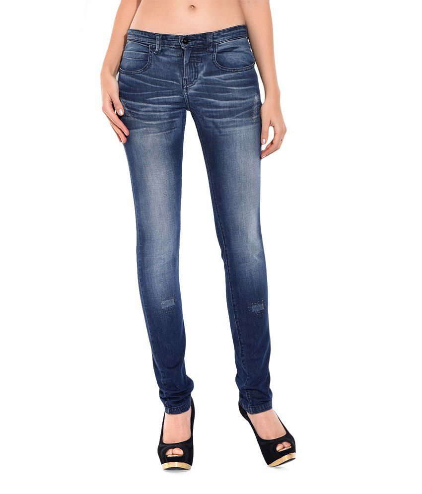 Chlorophile Blue Lumiere Fade Organic Jeans