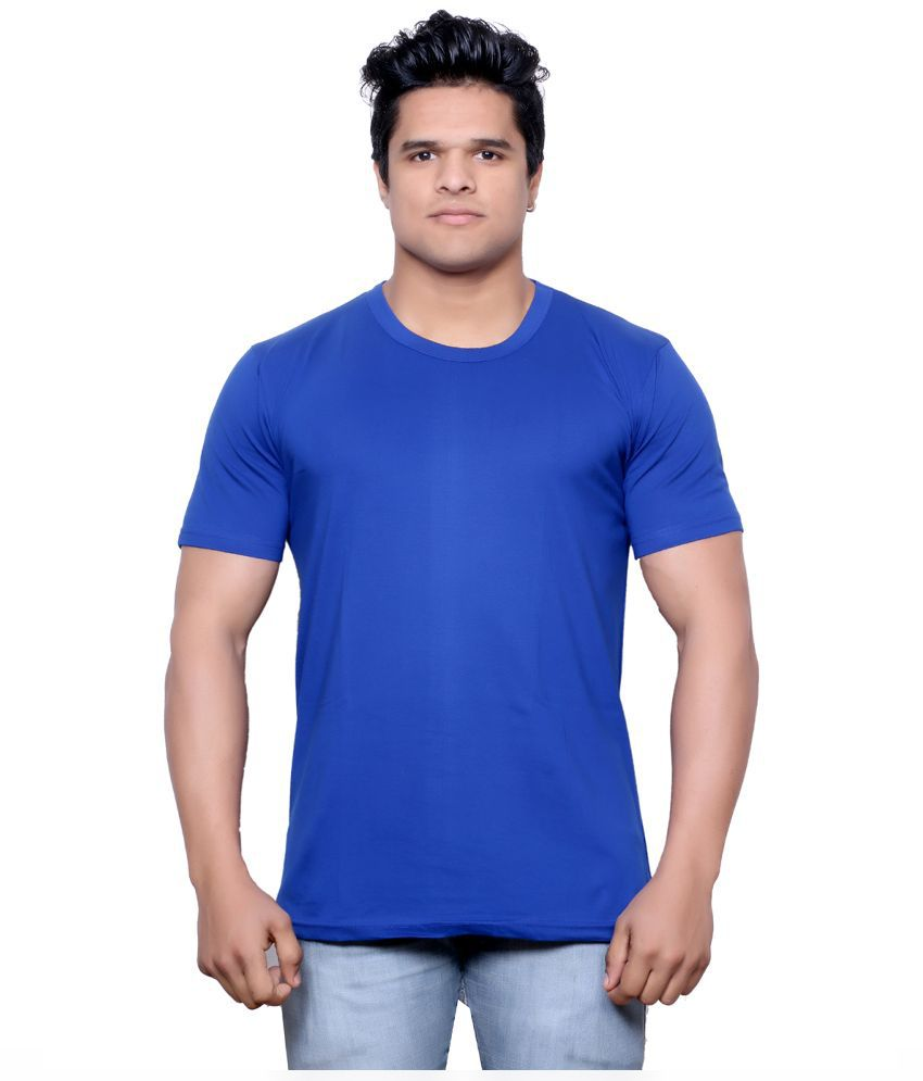 Indiweaves Blue Round T Shirt