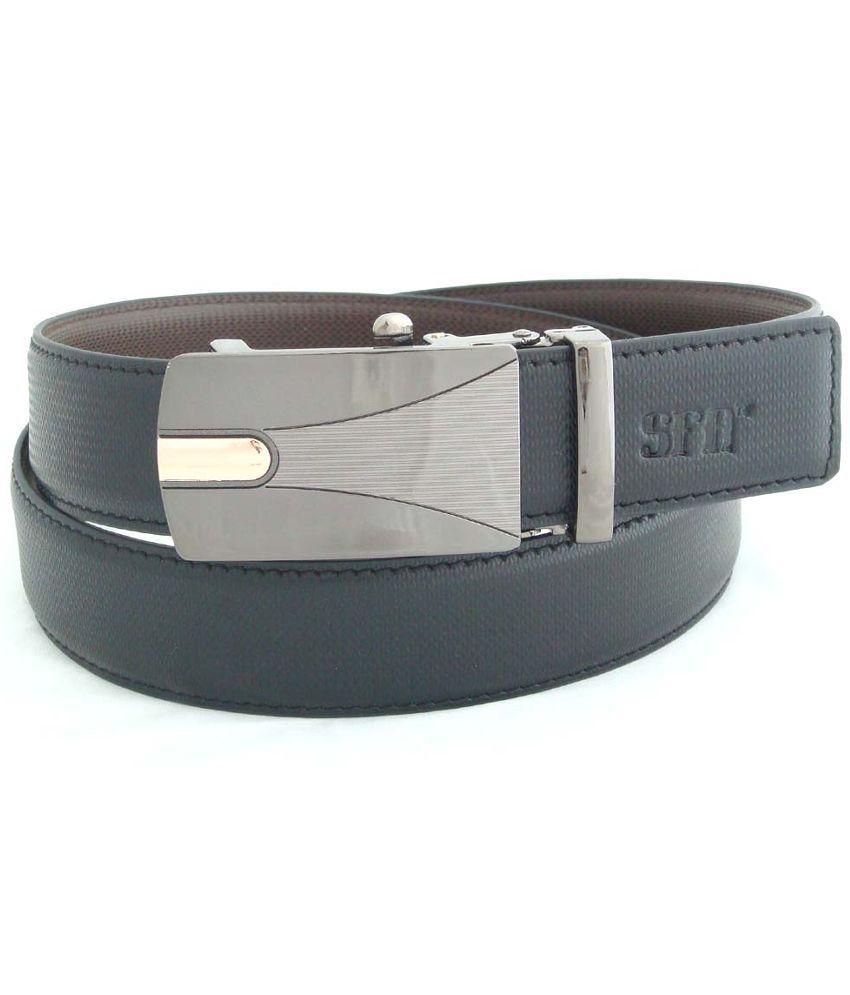 SFA Black Reversible Belt for Men