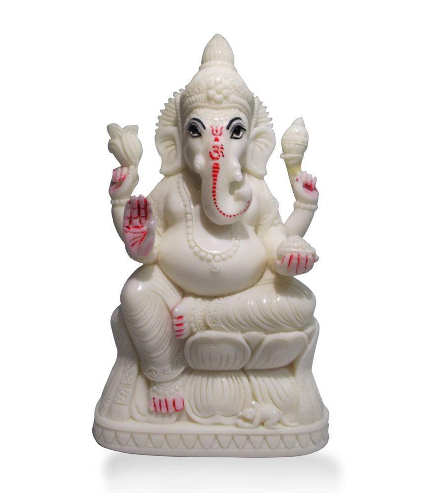 Archana White Marble Ganesha Idol Buy Archana White Marble
