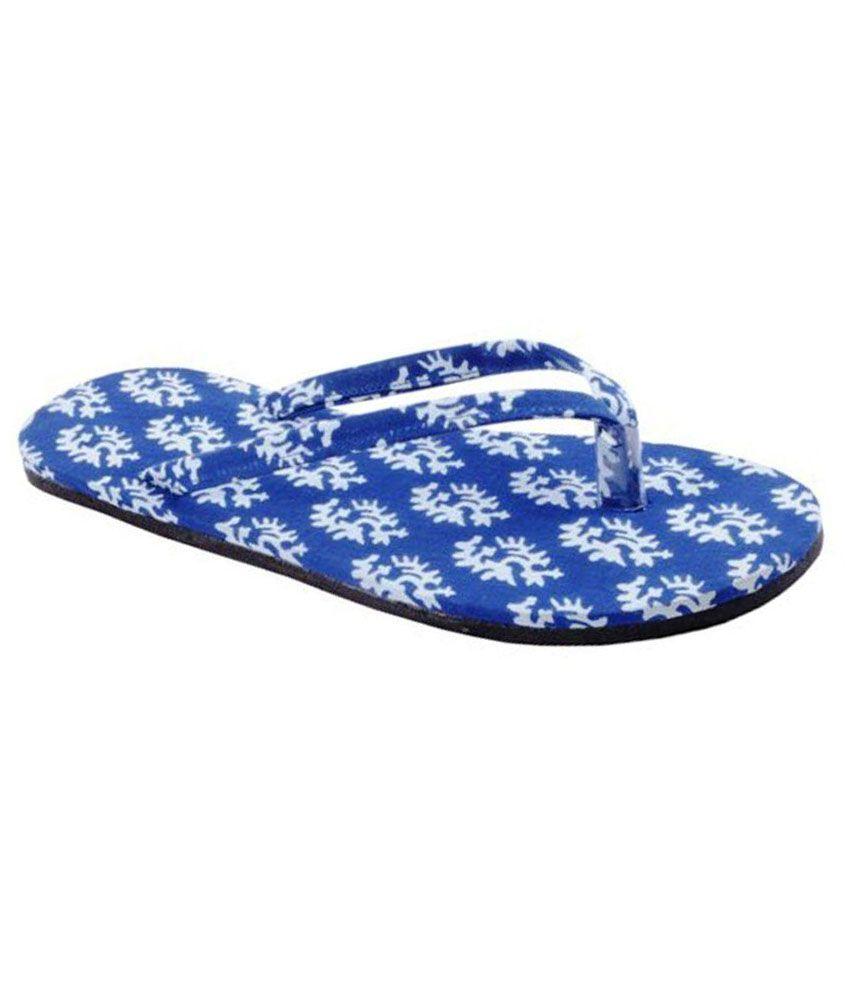 Hve Blue Slippers