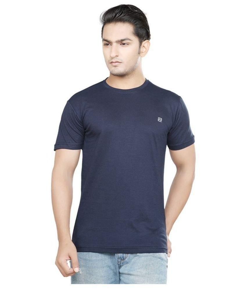 Sri Boga Tex Navy Round T Shirt