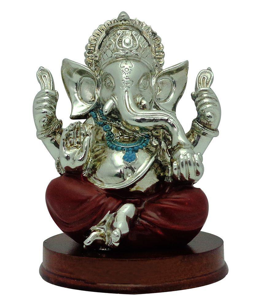 Art N Hub Ganesha Earthenware Idol