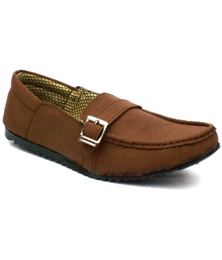 Black Field Brown Loafers