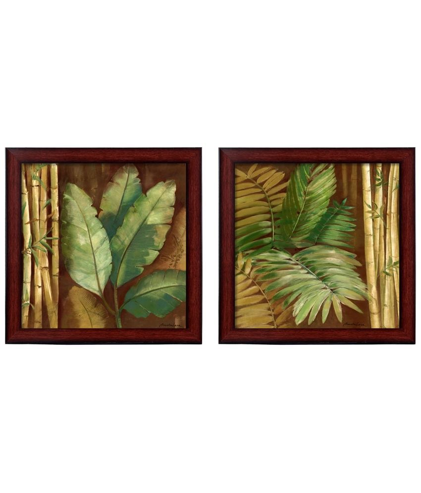 Elegant Arts & Frames Textured Art Print Wall Hangings - Set Of 2