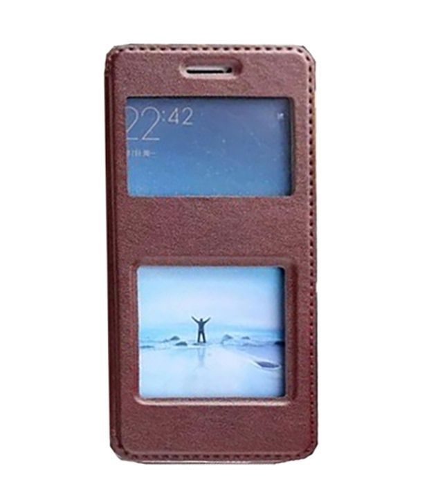 Excelsior Flip Cover For Xiaomi Mi5   Brown
