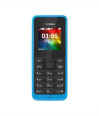 Nokia nokia 105 Dual Sim ( Below 256 MB Blue )