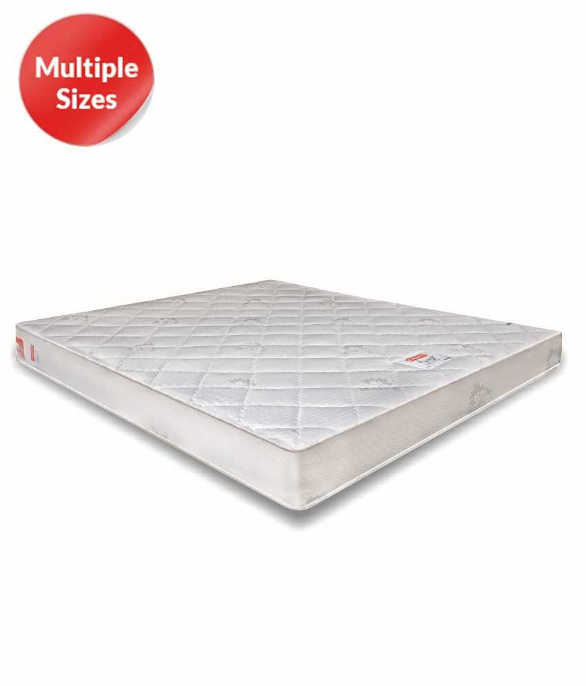 coirfit twin plus dlx 5 inches luxurious double zone sleeping system