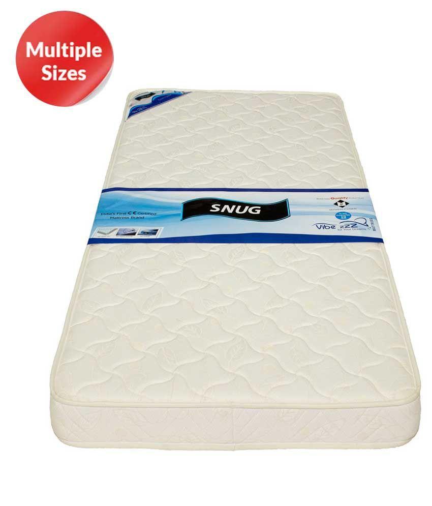 Vibezzz Snug Tight Top Memory Foam Mattress Buy Vibezzz Snug Tight Top Memory Foam Mattress