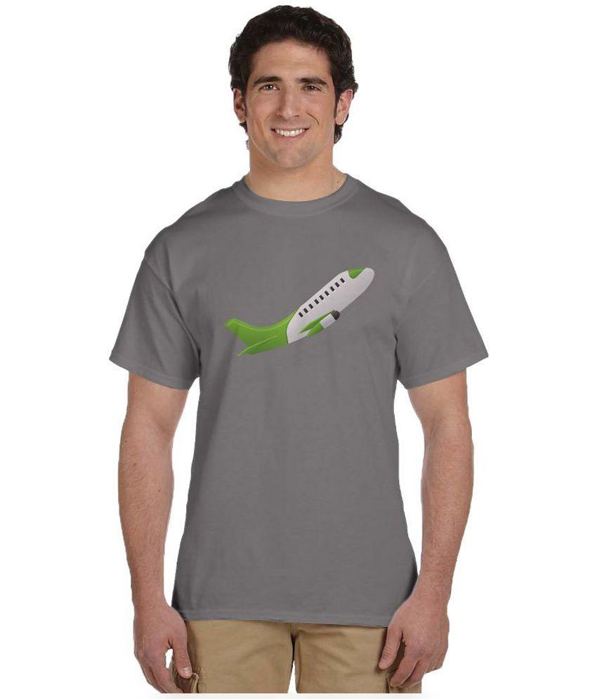 Haunting Dragons Grey Round T Shirt