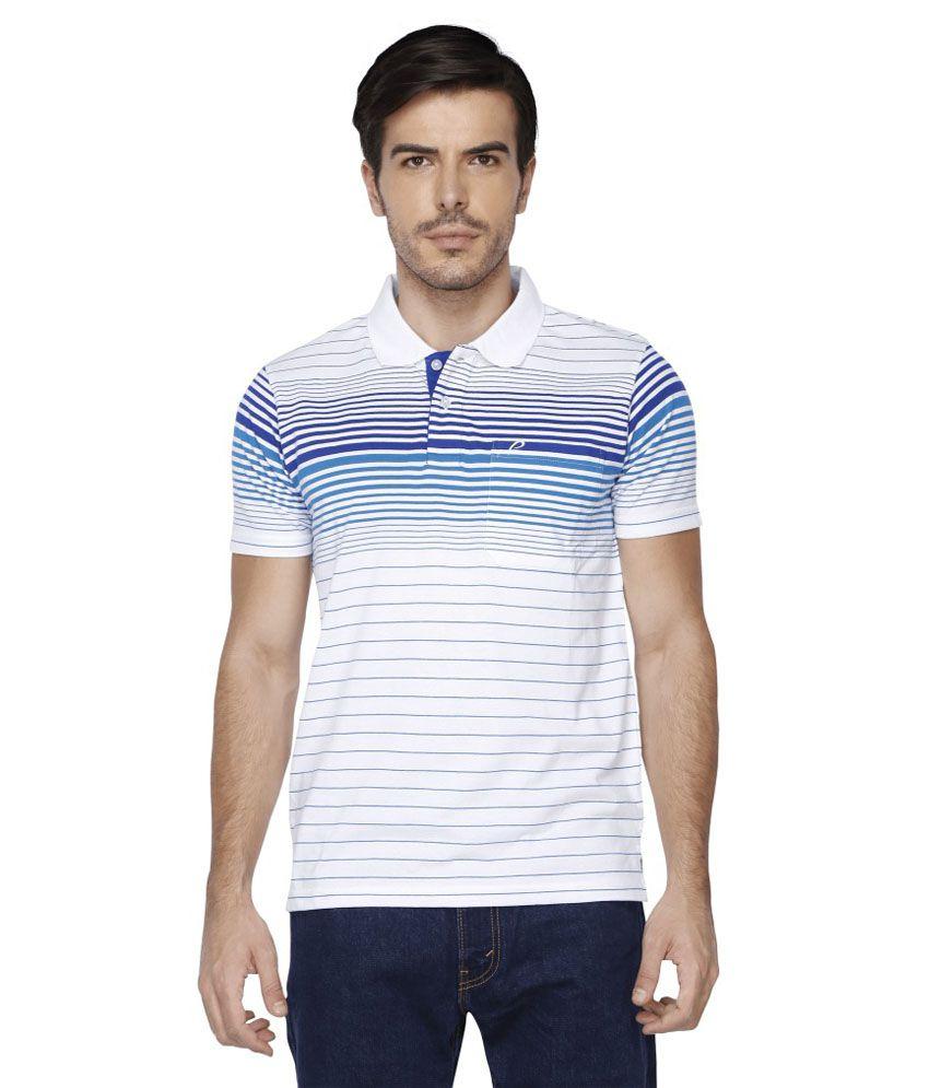 Proline White Polo T Shirts