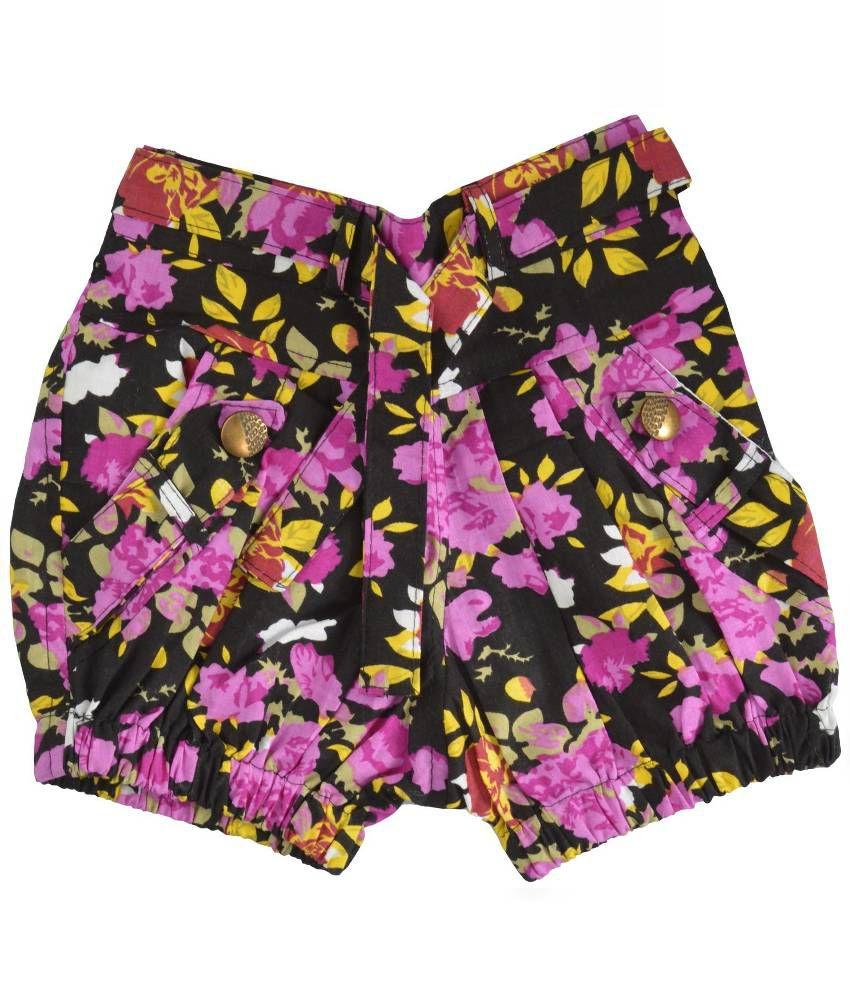 Shreemangalammart Multicolor Cotton Shorts
