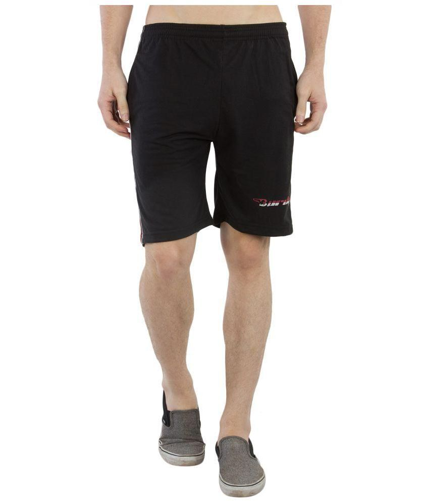 Burdy Black Shorts