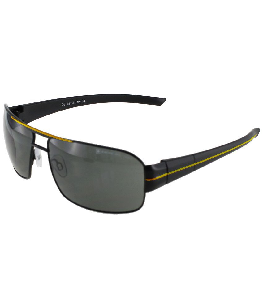 Swiss Military   Black Square Sunglasses   sum37