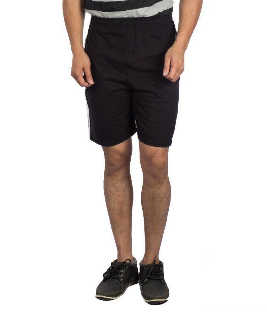 V3squared Black Shorts
