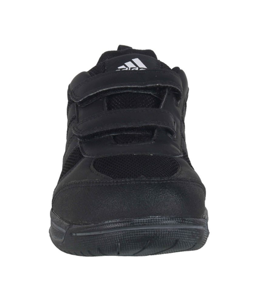 32a5c74406e4 Adidas Black School Shoes For Kids Price in India- Buy Adidas Black ...