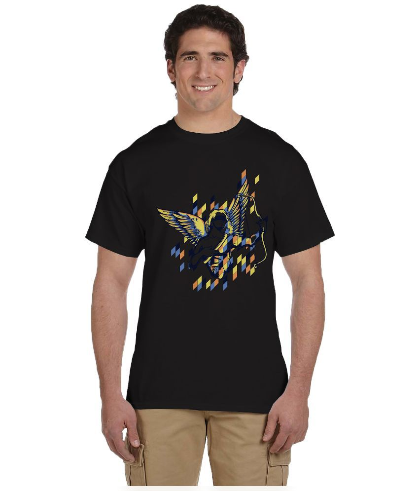 Haunting Dragons Black Round T Shirt