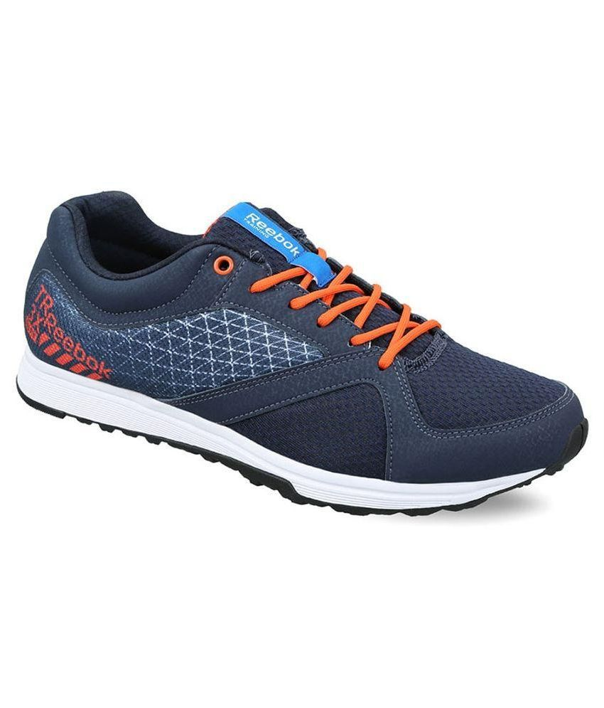Reebok Navy Running Shoes
