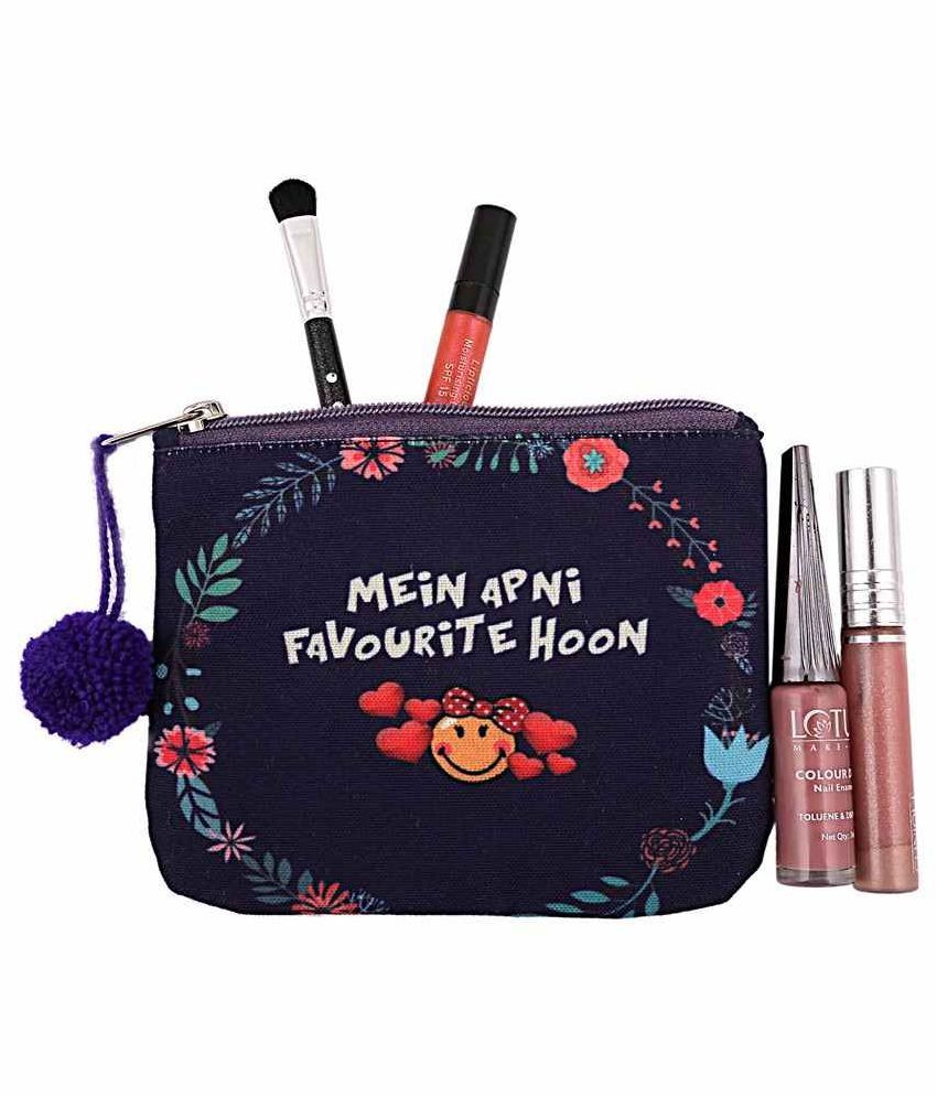 The Crazy Me Blue Vanity Kit and pouches - 1 Pc