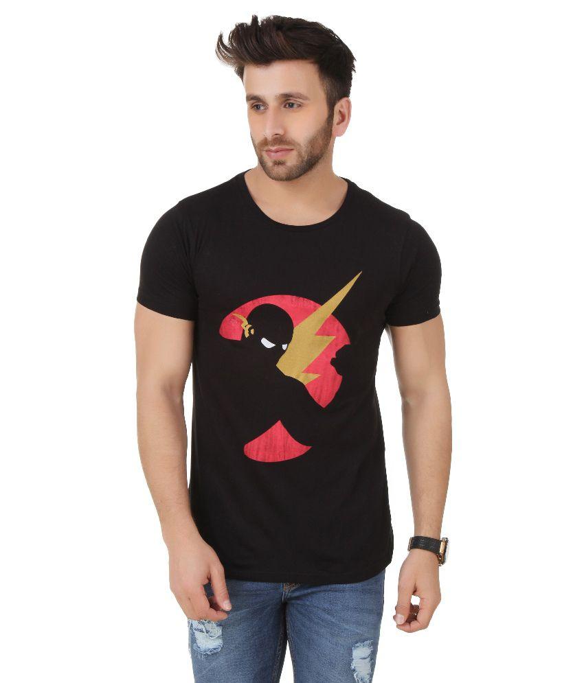 Frost Black Round T Shirt
