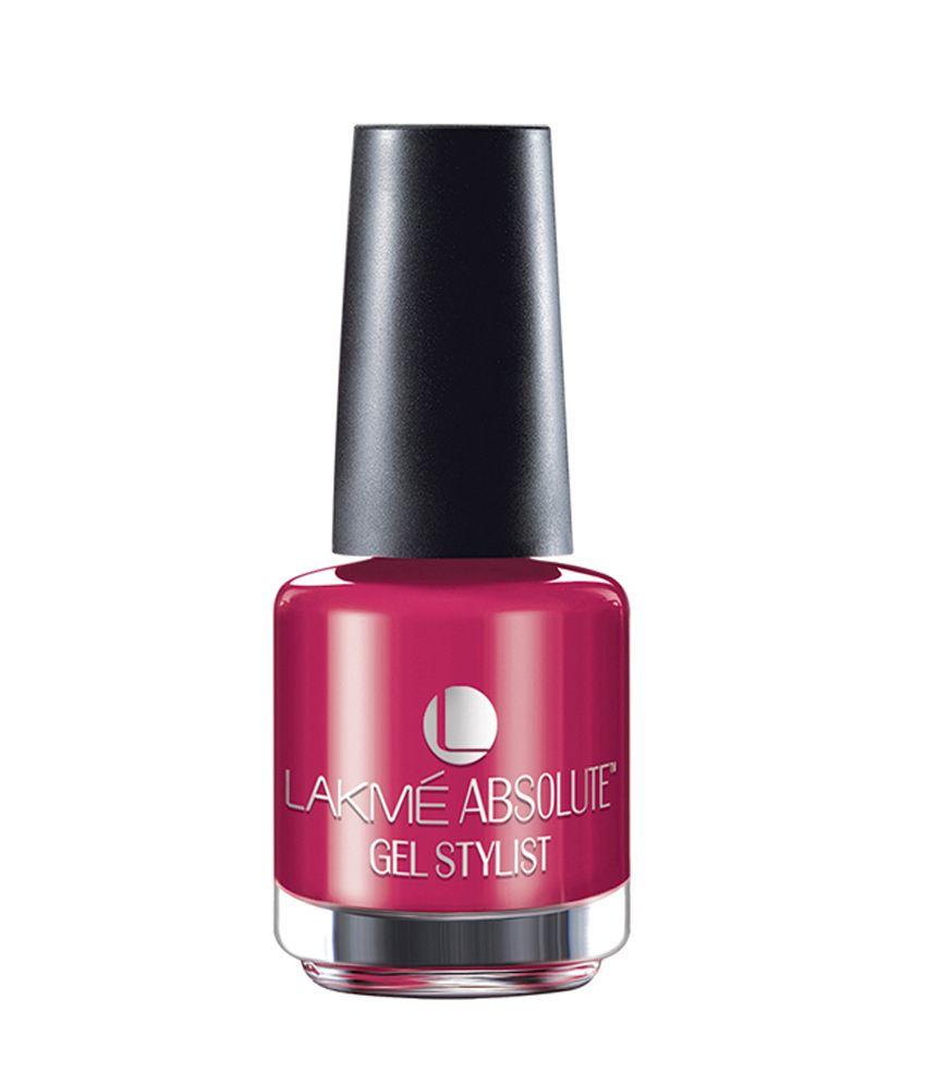 Lakme Absolute Gel Stylist Pink Queen Nail Polish 15ml