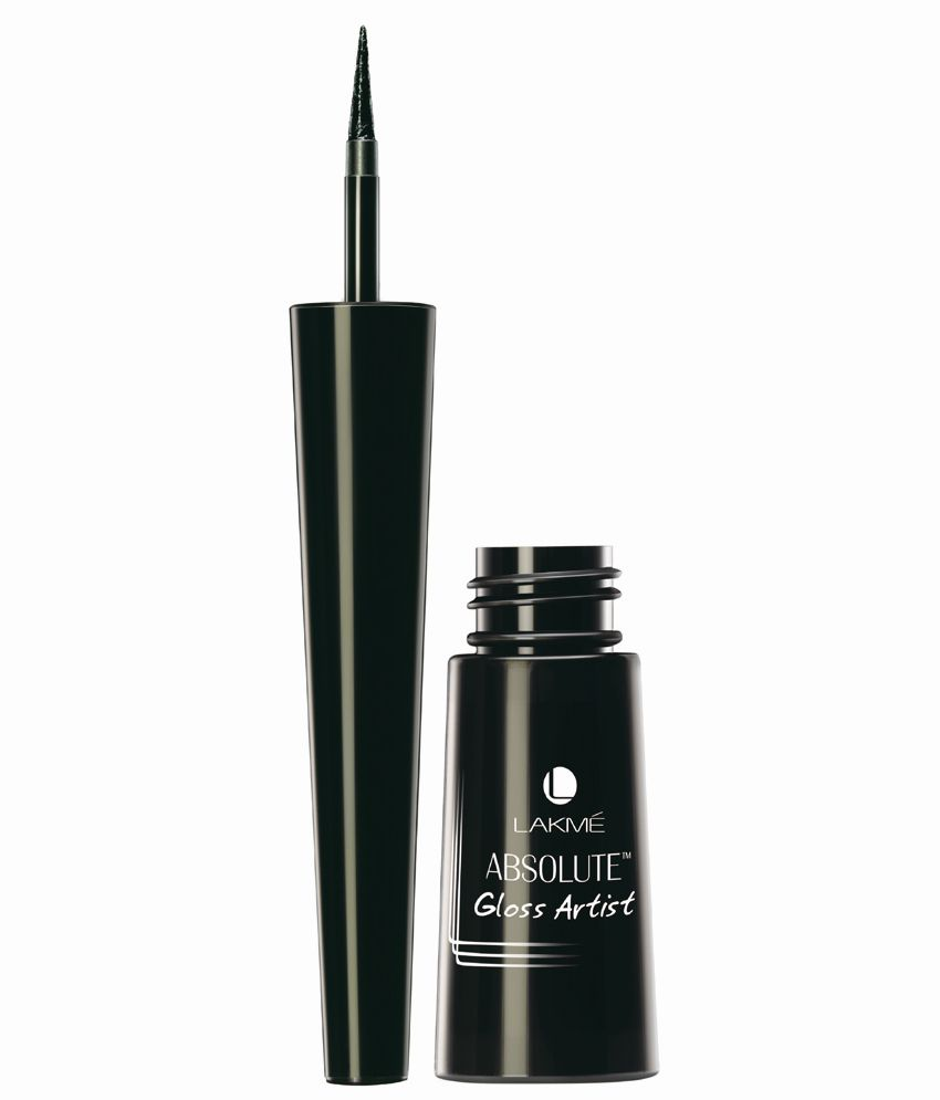 Lakme Absolute Gloss Artist Black Eye Liner 2.5 ml: Buy