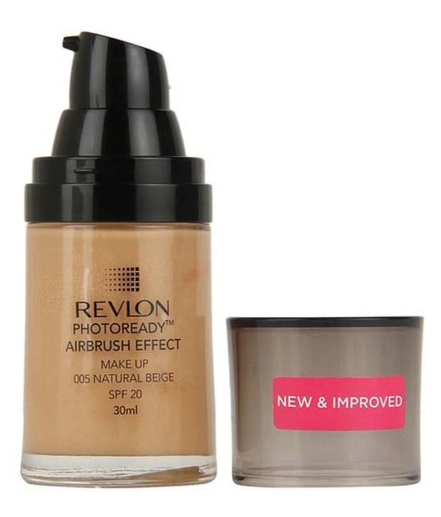 Revlon Photo Ready Air Brush Effect Foundation Natural Beige (Spf-20): Buy Revlon Photo Ready Air Brush Effect Foundation Natural Beige (Spf-20) at Best ...