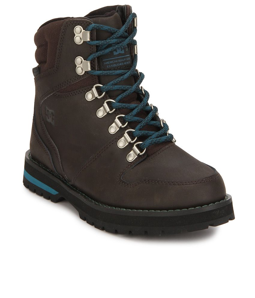 DC Peary Brown Boots