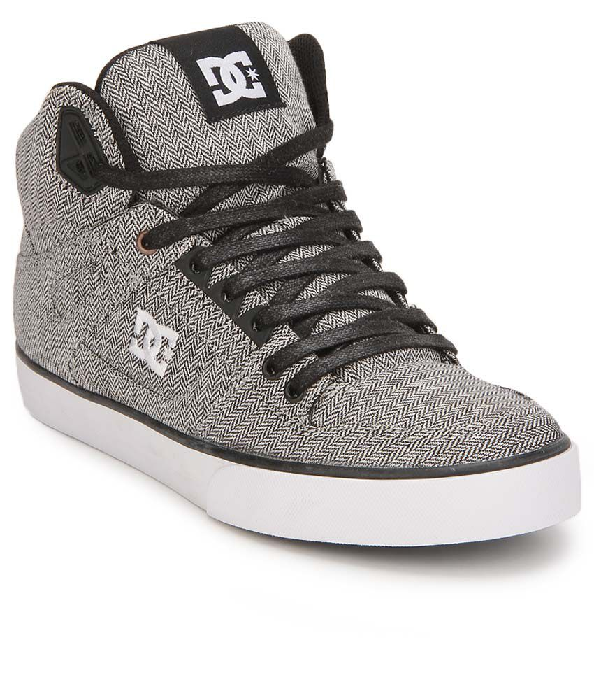 1362ffe29d DC Spartan Gray Smart Casuals Casual Shoes - Buy DC Spartan Gray Smart  Casuals Casual Shoes Online at Best Prices in India on Snapdeal