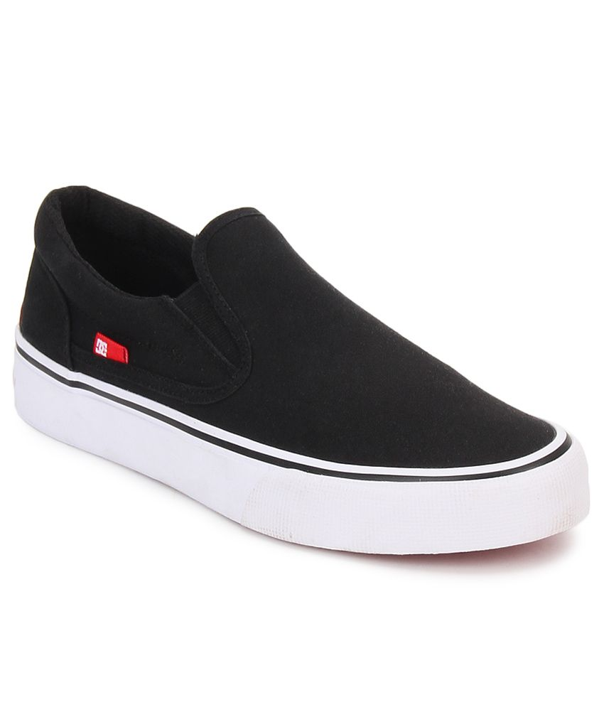 dc trase black smart casuals casual shoes buy dc trase