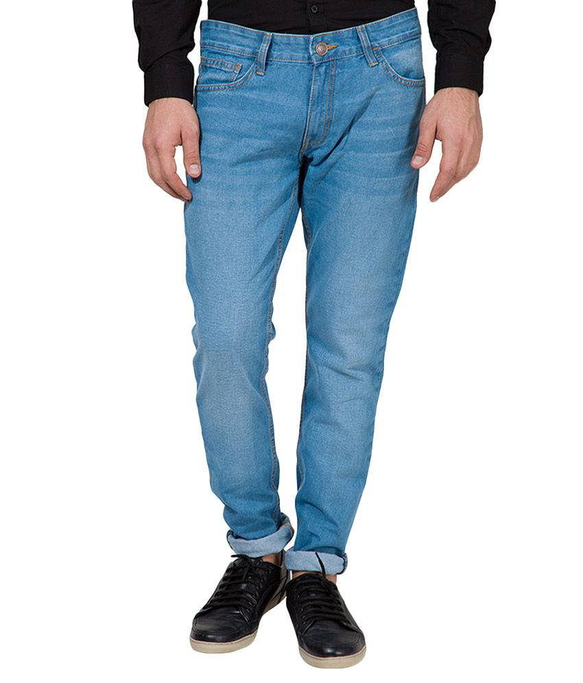 Highlander Navy Slim Fit Jeans