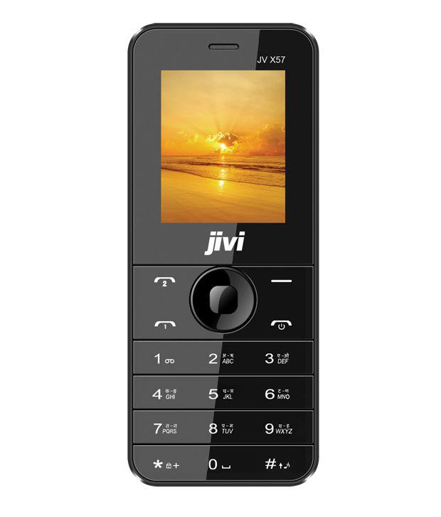 Jivi Jivi X57 Black Below 256 MB Black
