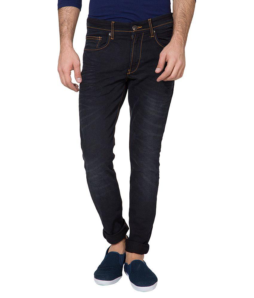 Locomotive Black Slim Fit Jeans
