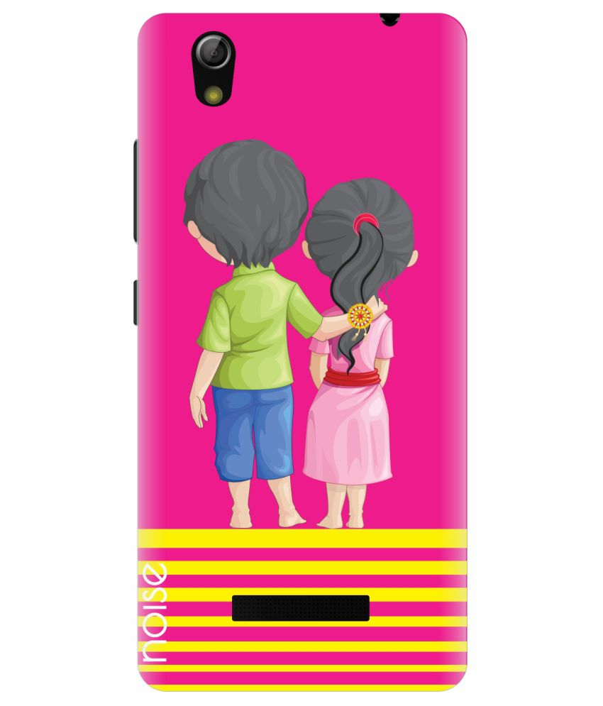 separation shoes 6a413 beeed Gionee P5L Printed Back Covers by Noise - Multicolor
