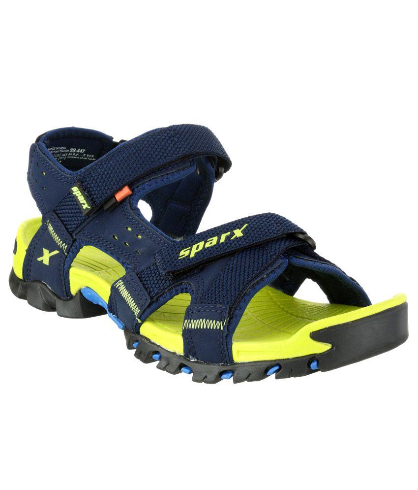 fa3a63020 Sparx Navy Floater Sandals - Buy Sparx Navy Floater Sandals Online ...