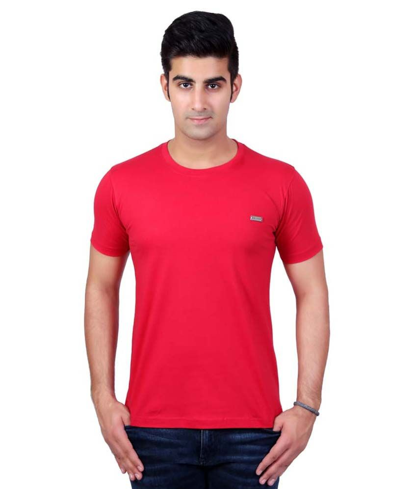 AVVAS Red Round T Shirt
