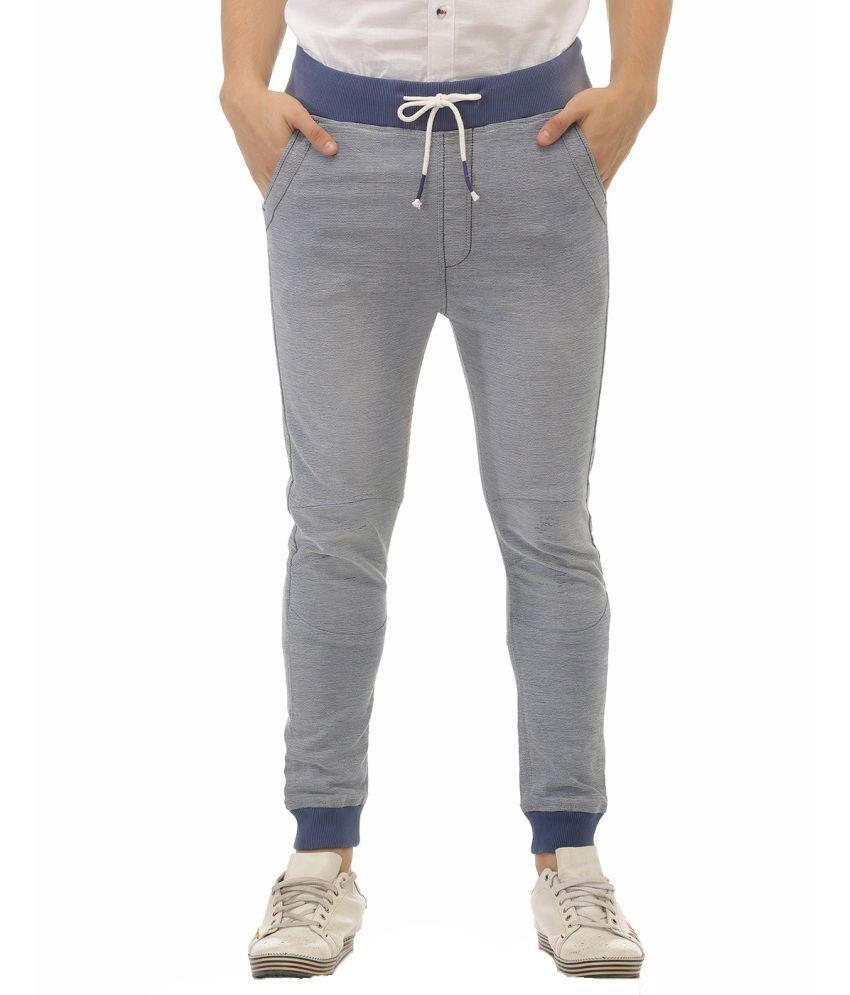 Jogur Blue Regular Fit Solid Jeans