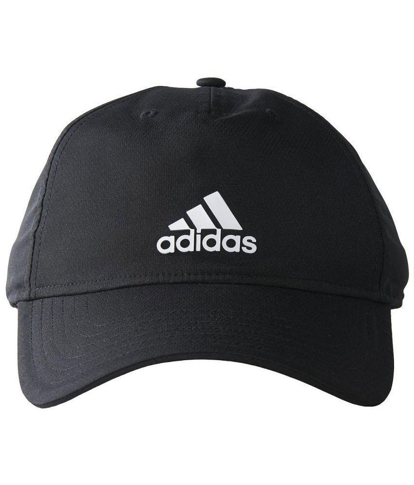 bcb183d86c Adidas Black Polyester Tennis Cap for Men - Buy Online @ Rs. | Snapdeal