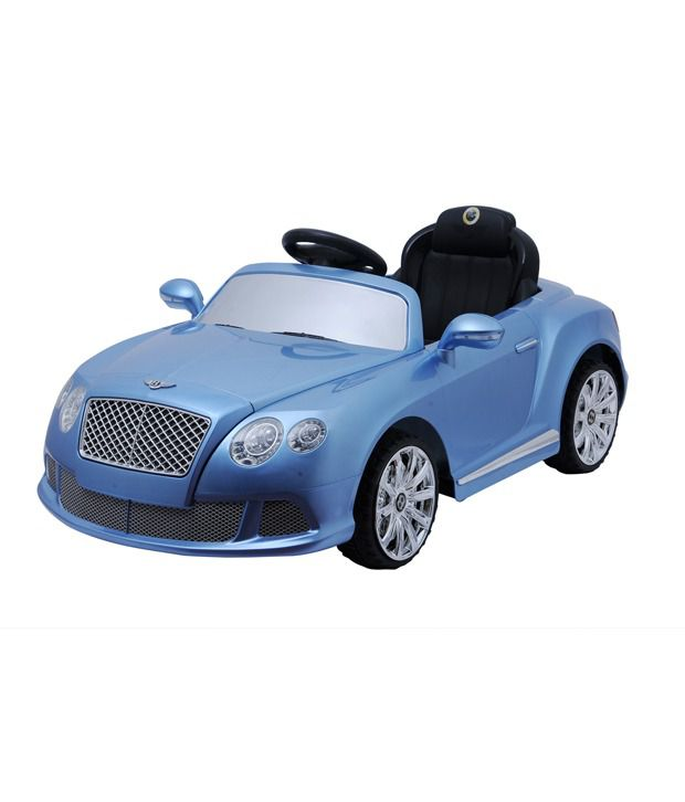 Happy Kids Bentley Ride-on Car (Blue)