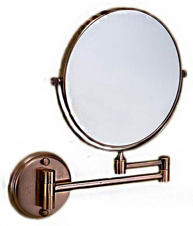 Greggs Brown Stainless Steel Bathroom Mirror